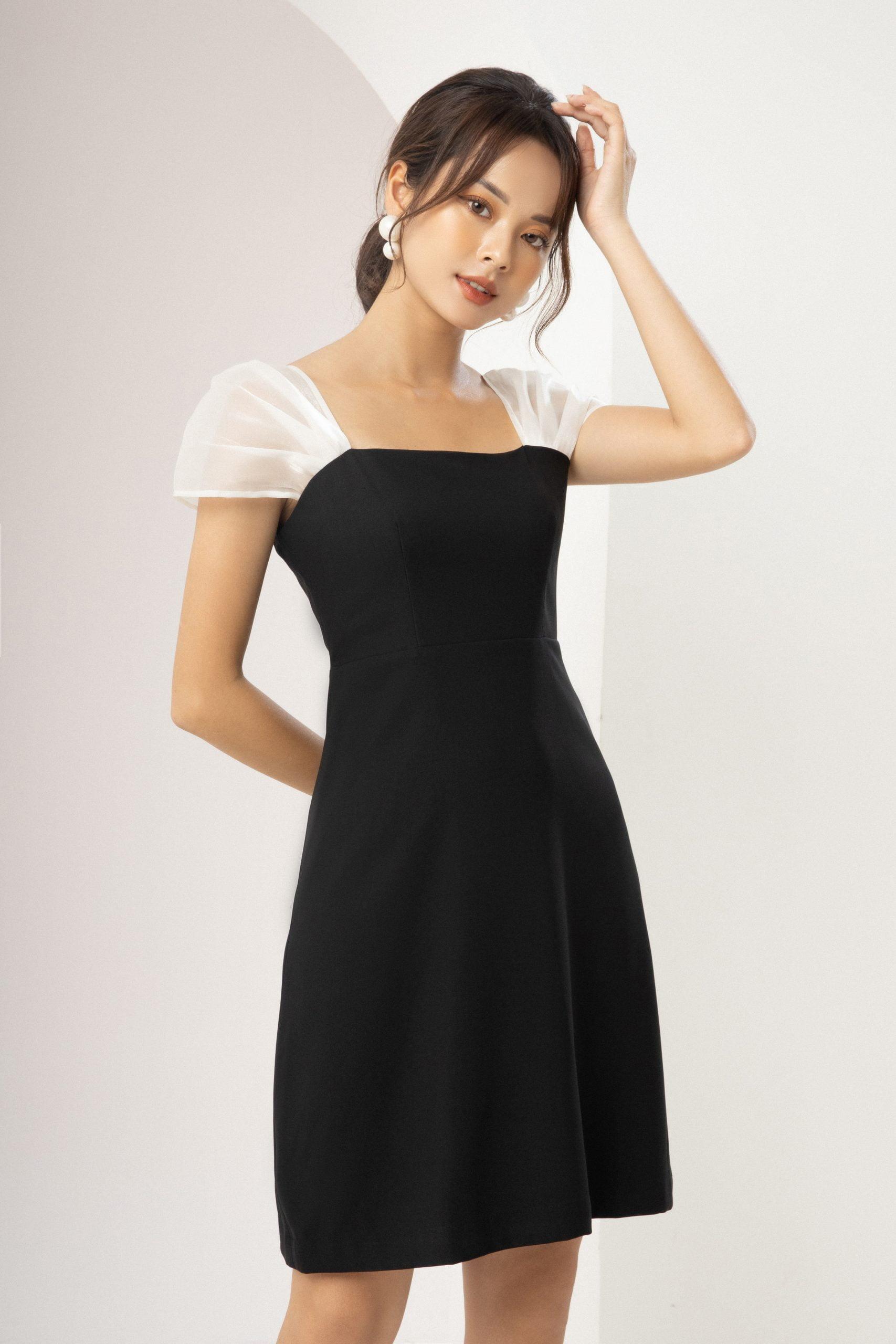 Set đồ đen ngày halloween - Trang phục đơn giản mà đầy ấn tượng