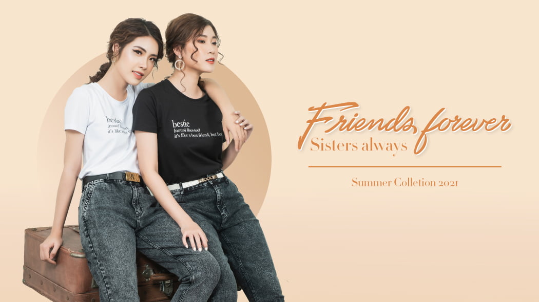 Friends Forever Sisters Alway